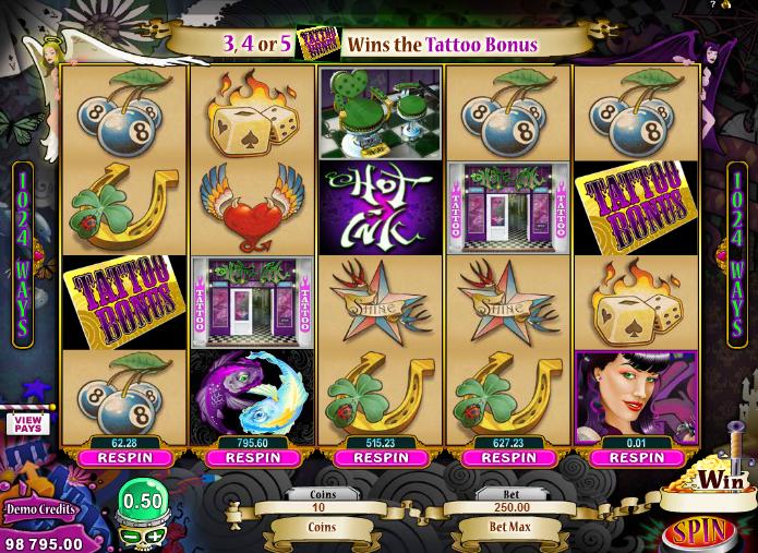 Kostenlose Spielautomat Hot Ink Online