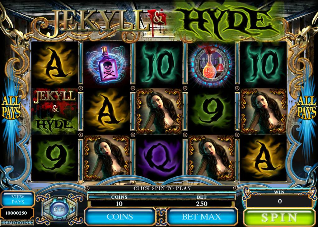 Jekyll And Hyde Spielautomat Kostenlos Spielen