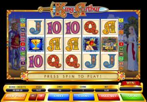 Kostenlose Spielautomat King Arthur Online