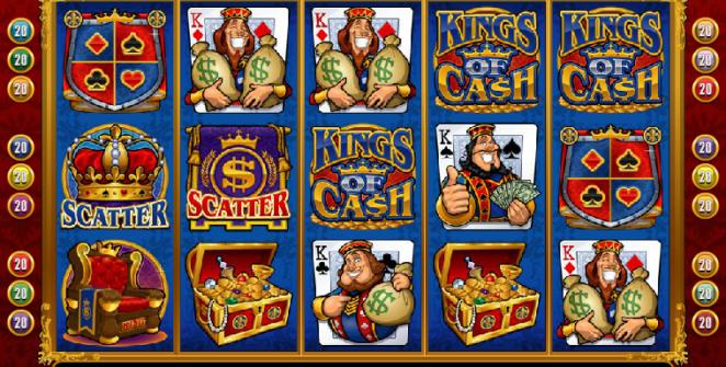 Kings Of Cash Spielautomat Kostenlos Spielen