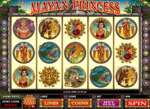 Kostenlose Spielautomat Mayan Princess Online