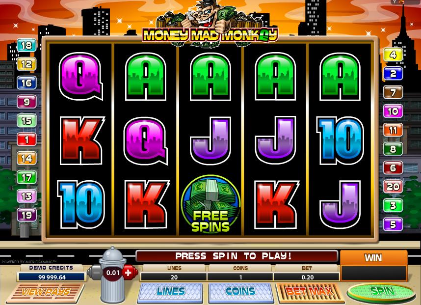 Money Mad Monkey Spielautomat Kostenlos Spielen