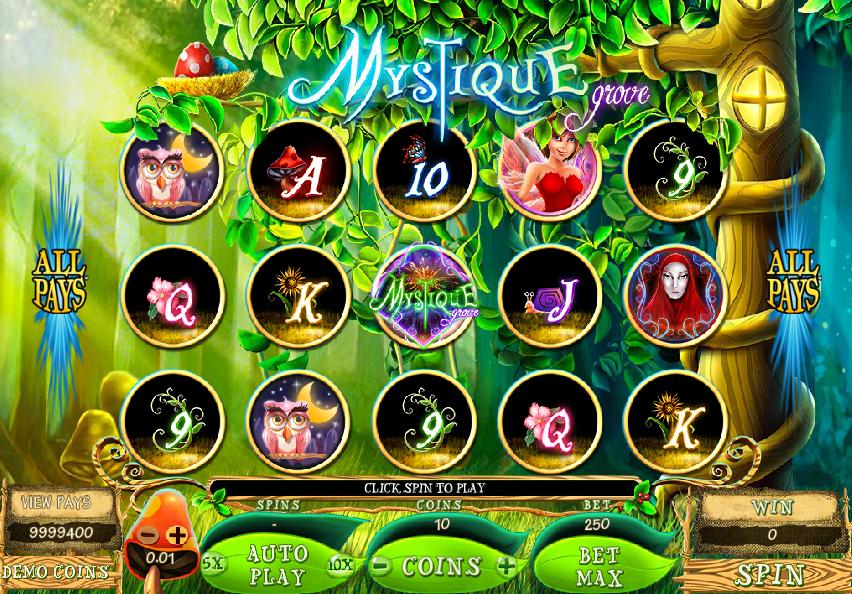 Spielautomat Mystique Grove Online Kostenlos Spielen