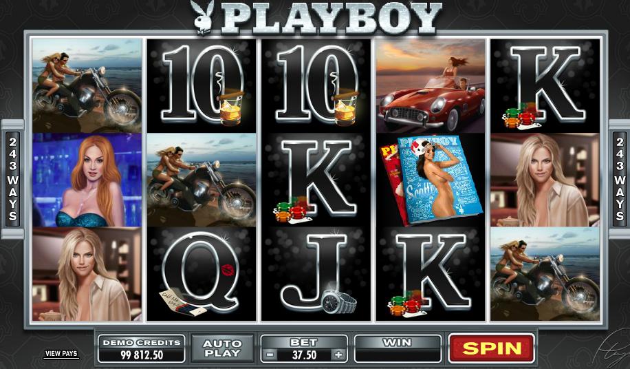 Playboy slots - gratis online casinospil fra Microgaming