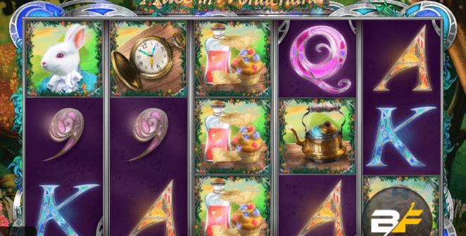 Spielautomat Alice in Wonderland BF Online Kostenlos Spielen