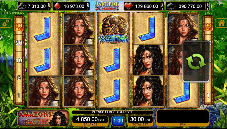 Amazons Battle Spielautomat Kostenlos Spielen