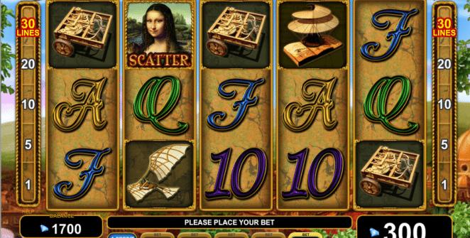 Genius of Leonardo Spielautomat Kostenlos Spielen