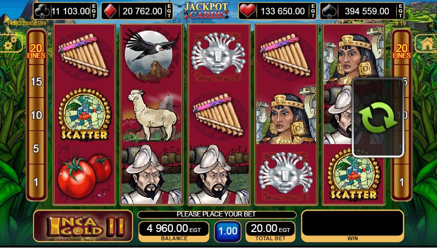 Gold Dust Slot - Spielen Sie dieses gratis EGT Casino-Spiel online