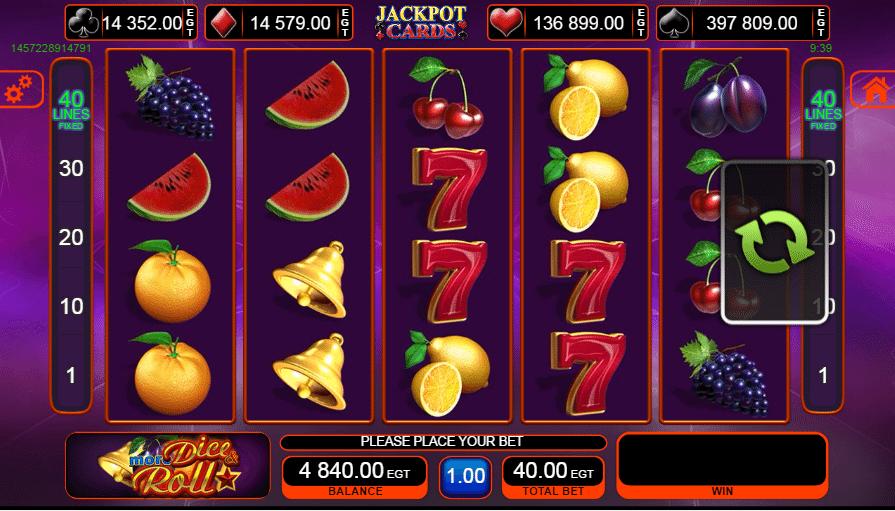 More Dice & Roll Slot - Gewinnen Sie groß, wenn Sie Online-Casino-Spiele spielen