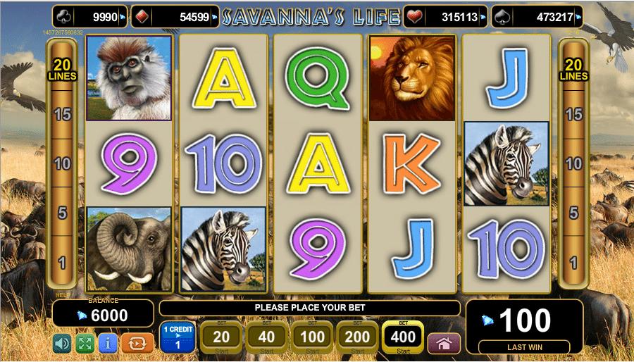 savannas life spielen