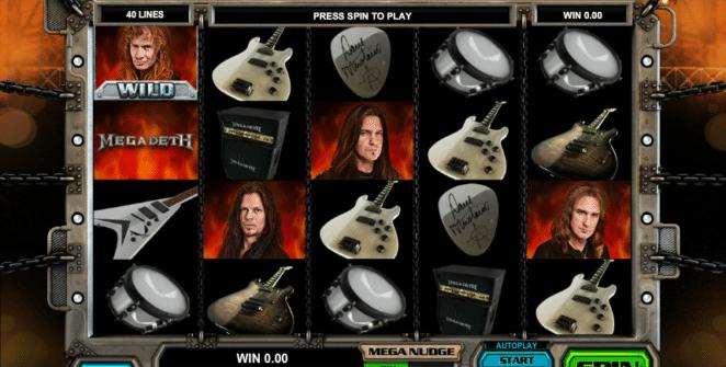 Kostenlose Spielautomat Megadeth Online