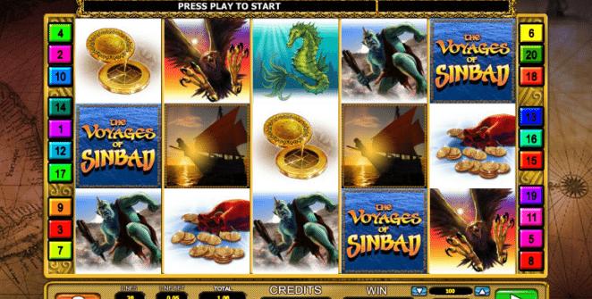 Kostenlose Spielautomat The Voyages of Sindbad Online