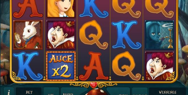 Kostenlose Spielautomat Alice Adventure Online