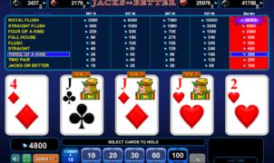 Casino Spiele Jacks or Better EGT Online Kostenlos Spielen