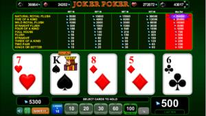 Joker Poker EGT Kostenlos Spielen