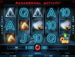 Paranormal Activity Spielautomat Kostenlos Spielen