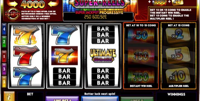 Ultimate Super Reels Spielautomat Kostenlos Spielen