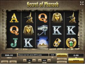 Spielautomat Secret of Pharaoh Online Kostenlos Spielen