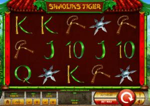Kostenlose Spielautomat Shaolins Tiger Online