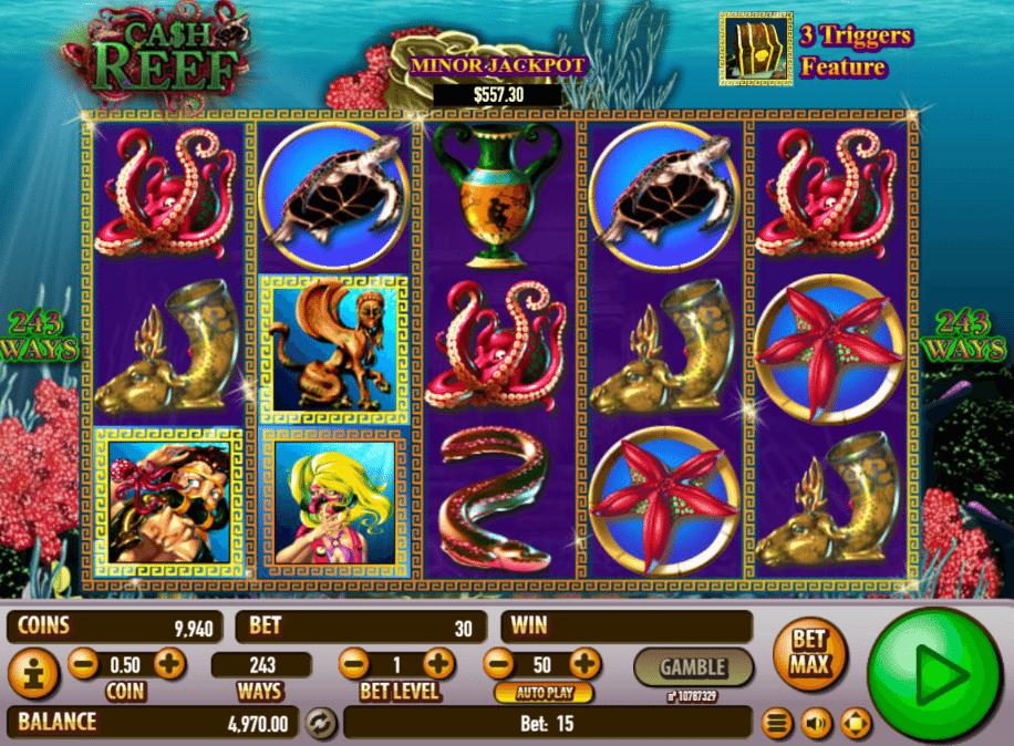 Spiele Cash Reef - Video Slots Online