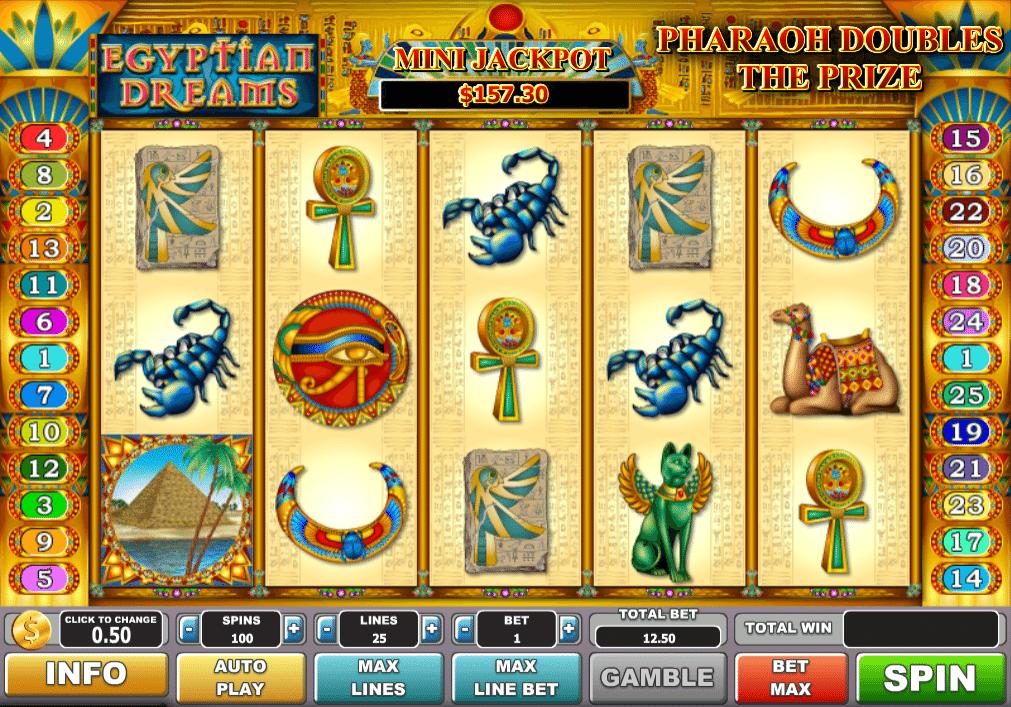 Spiele Egyptian Dreams - Video Slots Online
