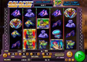 Kostenlose Spielautomat Galactic Cash Attack Online