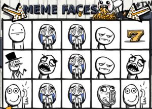 Kostenlose Spielautomat Meme Faces Online