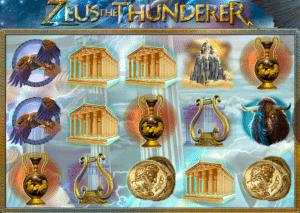 Spielautomat Zeus the Thunderer Online Kostenlos Spielen