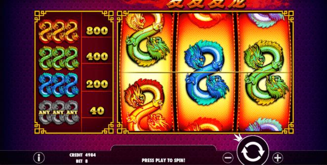 Spielautomat 888 Dragons Online Kostenlos Spielen