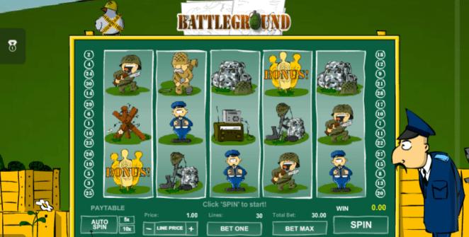Spielautomat Battleground Spins Online Kostenlos Spielen