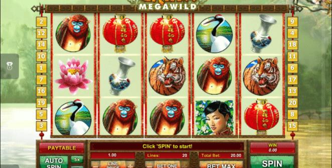 Kostenlose Spielautomat China MegaWild Online