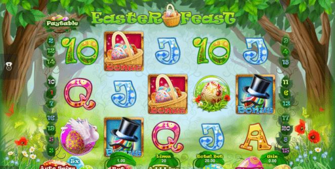 Kostenlose Spielautomat Easter Feast Online