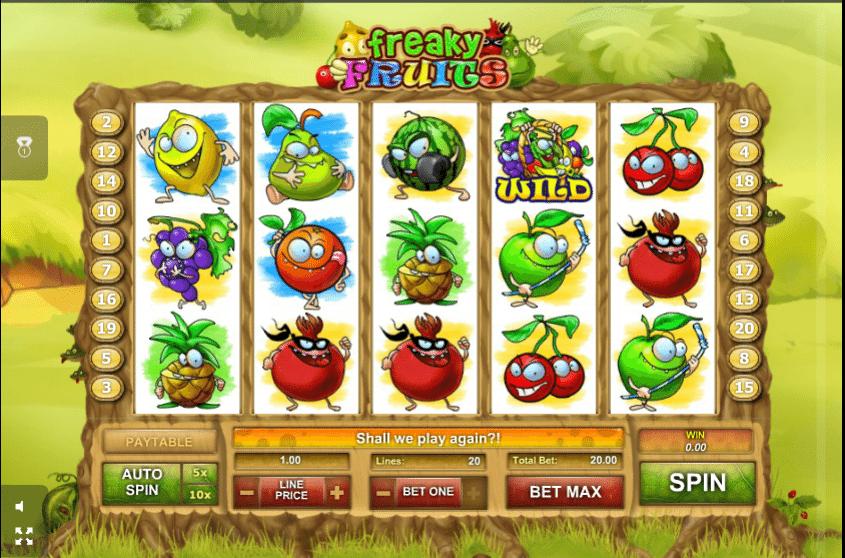 freaky fruit spielen