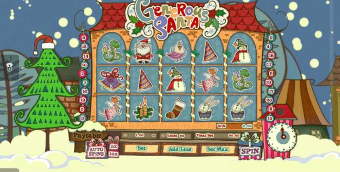 Spielautomat Generous Santa Online Kostenlos Spielen