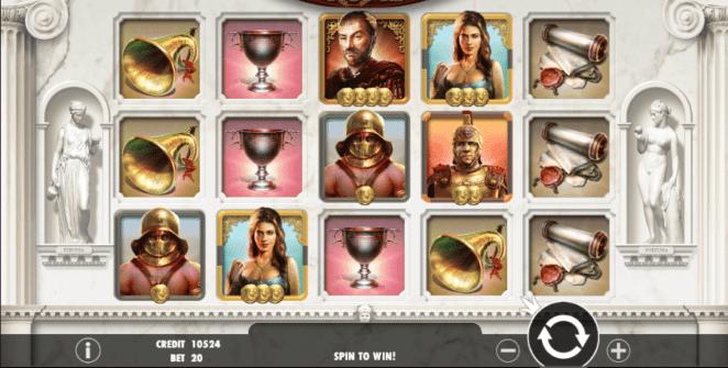 Glorious Rome Spielautomat Kostenlos Spielen
