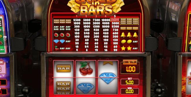 Kostenlose Spielautomat Gold in Bars Online