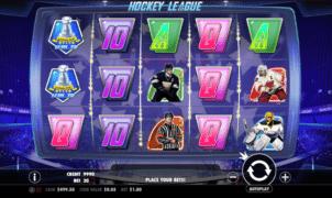 Kostenlose Spielautomat Hockey League Online