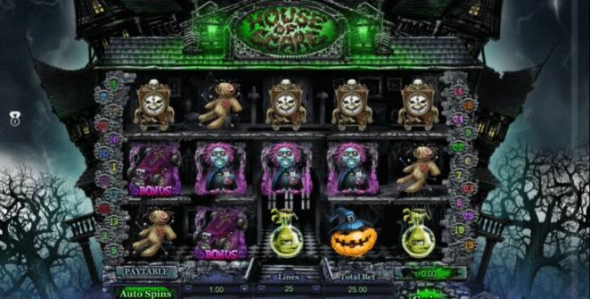 Spielautomat House of Scare Online Kostenlos Spielen
