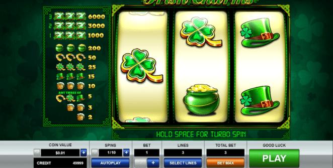 Spielautomat Irish Charms Online Kostenlos Spielen