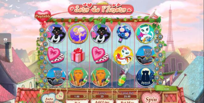 Jour de lAmour Spielautomat Kostenlos Spielen