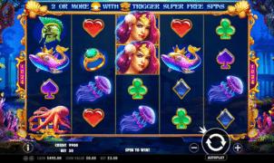 Spielautomat Queen of Atlantis Online Kostenlos Spielen
