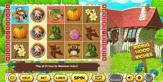 Spielautomat Riding Hood Riches Online Kostenlos Spielen