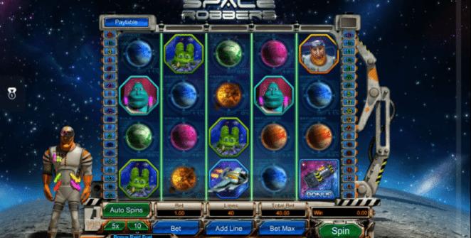Spielautomat Space Robbers Online Kostenlos Spielen