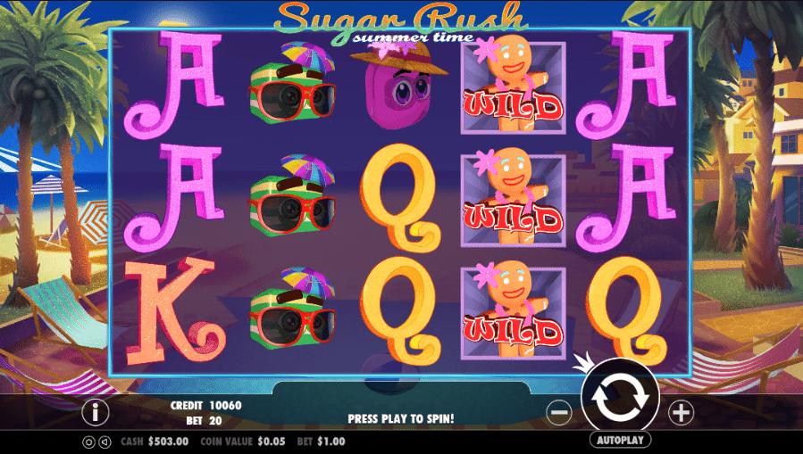 Sugar Rush Spiel