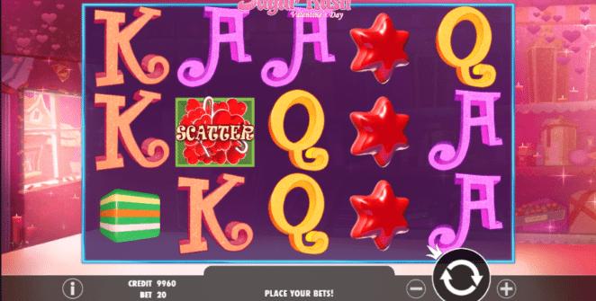 Kostenlose Spielautomat Sugar Rush Valentines Day Online