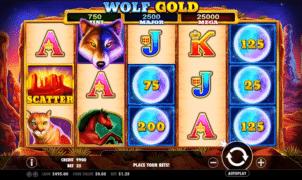 Kostenlose Spielautomat Wolf Gold Online