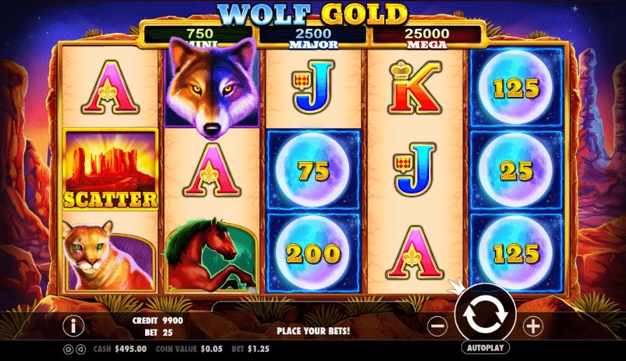 Spiele Wolf Gold Scratchcard - Video Slots Online