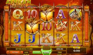 Spielautomat African Sunset Online Kostenlos Spielen