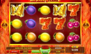 Kostenlose Spielautomat Burning Flame Online