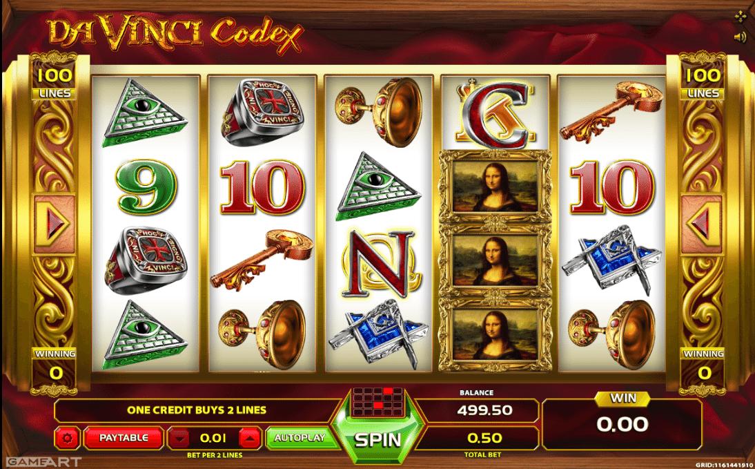 Spiele Davinci Codex - Video Slots Online